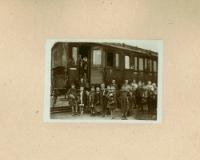 Nieznany, 1921-1924, Słowo historii - fotosesje [karty albumu]